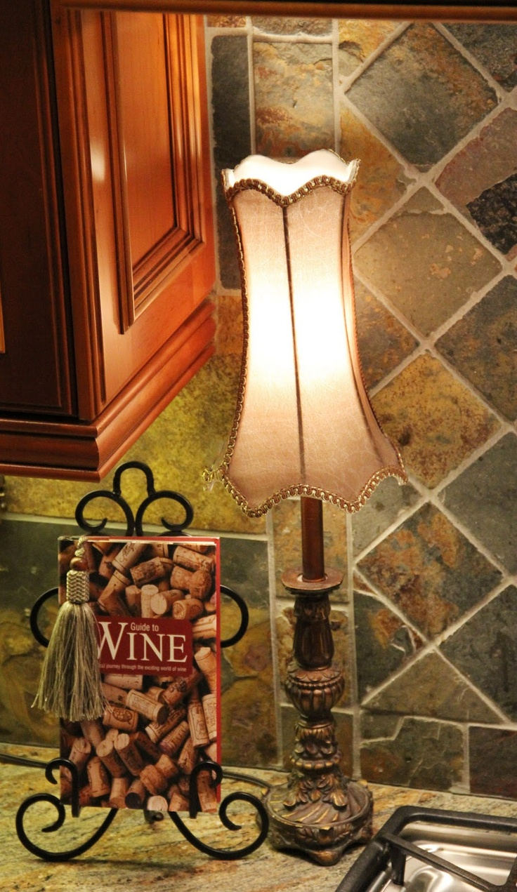 Love this lamp shade