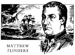 Matthew Flinders (March 16, 1774 - July 19, 1814) was an English explorer, naval officer and navigator who sailed entirely around Australia and mapped much of its coastline