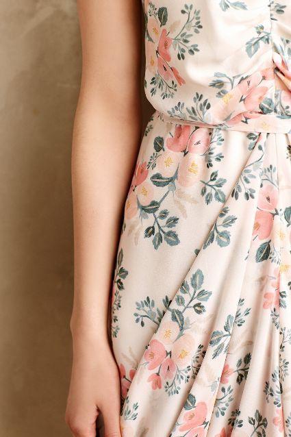 Draped Bouquet Dress - anthropologie.com