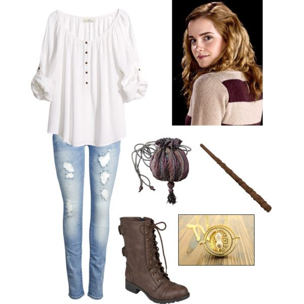 """Hermione Granger"" by fashion-cheerleader on Polyvore"