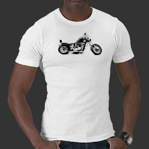 Custom Motorcycle T Shirt
