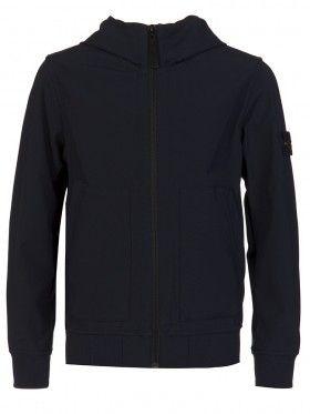 Stone Island Junior Navy Tech Jacket