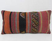 kilim pillow boho pillow cover lumbar pillow sitting cushion vintage home decor throw pillow sets art pillow case floor pillow cover 26005