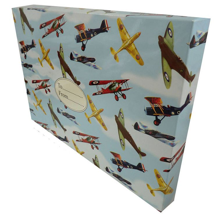 vintage aeroplanes gift box by the country cottage shop | notonthehighstreet.com