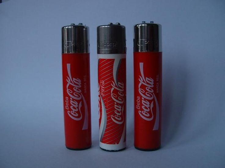 Coco Cola clipper lighters