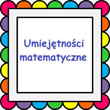 8. UMIEJĘTNOŚCI MATEMATYCZNE gry (zegar, kalendarz, termometr, zadania tekstowe) - klikankowo
