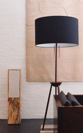 DDW Floor Lamp: Bddw Tripod, Floor Lamps, Tripod Lamps, Lamps Shades, Tripod Floors Lamps, Cool Lamps, Lamps Wood, Industrial Design, Lamps Stands