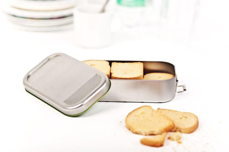 Versilbern Sie sich Ihr Frühstücksbrot!  Erleben Sie unsere nostalgische Lunchbox - jetzt im monochromen Look der einfarbigen Silber-Edition!