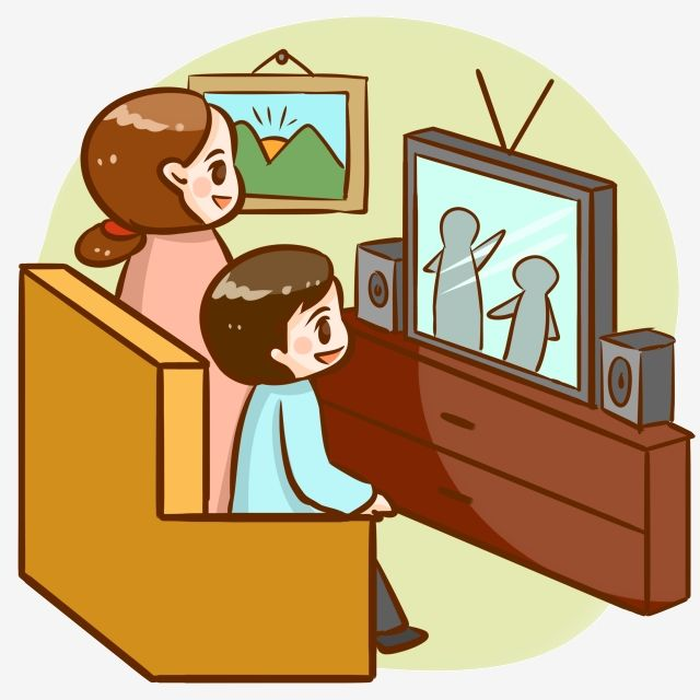 Mother And Child Sofa Watching Tv Video Watching Tv Clipart Color Decoration Png Transparent Clipart Image And Psd File For Free Download Mother And Child Elephant Background Clip Art