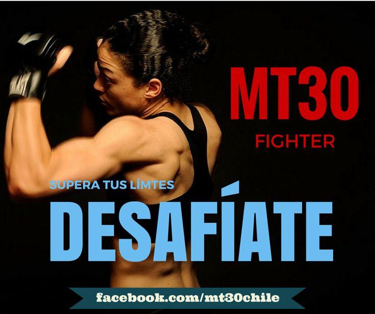 TÚ TIENES EL PODER. Supera tus Límites. DESAFÍATE!! #entrenamiento http://www.mt30.cl