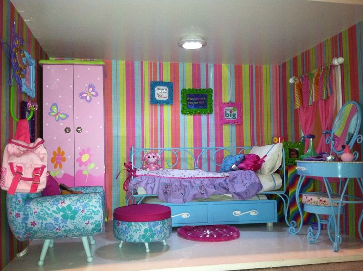 American Girl Mini Rooms Ebay