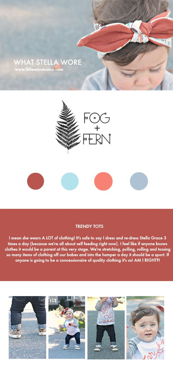 Quality kids clothes don't have to cost a fortune; and they don't thanks to Fog + Fern!