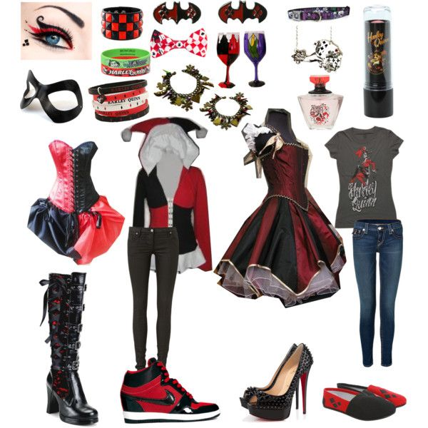 """Harley Quinn"" by mati-f-jones on Polyvore"