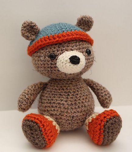 Ravelry: Bernie Bear pattern by Little Muggles