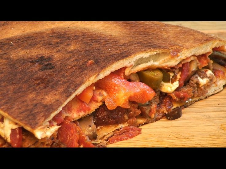 Pizza Double Meat, Double Crust Style by the BBQ Pit Boys