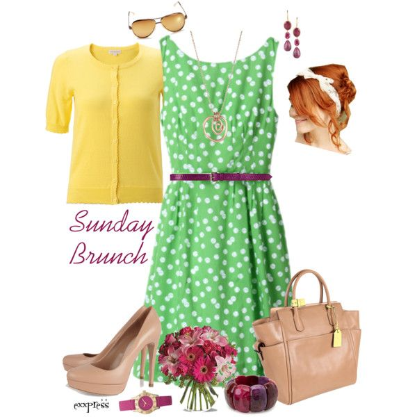 """Sunday Brunch Outfit"" by exxpress on Polyvore"