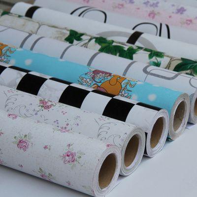 特价PVC自粘墙纸田园欧式温馨壁纸卧室客厅背景加厚防水区域包邮-淘宝网