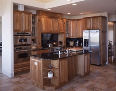 Wood & Stainless Steel Kitchen