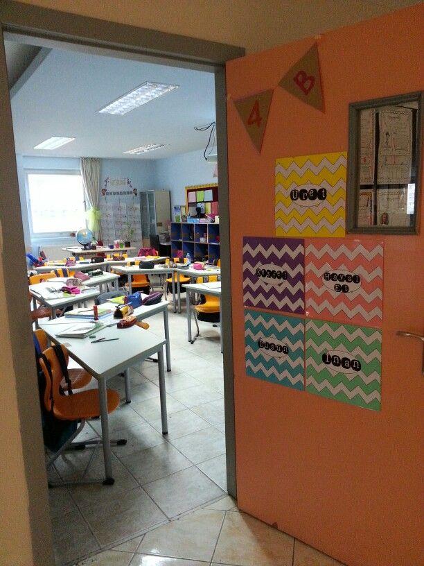 Bu yılki kapımız #door #decoration #classroom