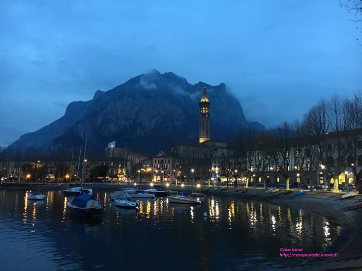 Lecco by night by Casa Irene http://casaperledo.xoom.it/