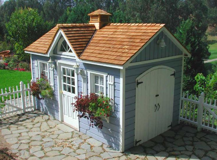 1000 ideas about shed office on pinterest backyard for Prefab garden sheds