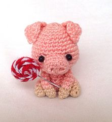 Willie the Pig crochet pattern
