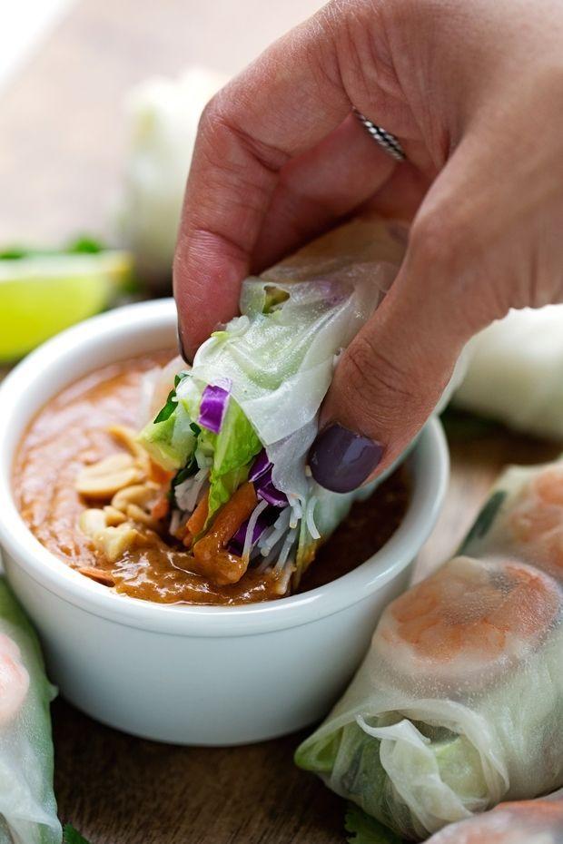 Vietnamese Fresh Spring Rolls (+Video) Recipe | Little Spice Jar