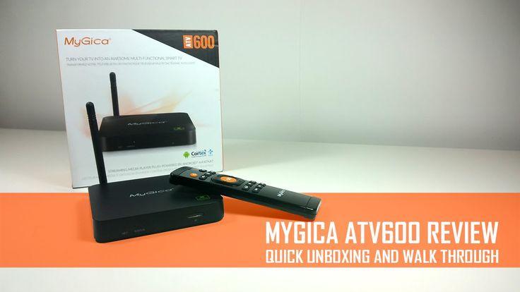 MyGica ATV600 QuadCore Android Box - Complete Review