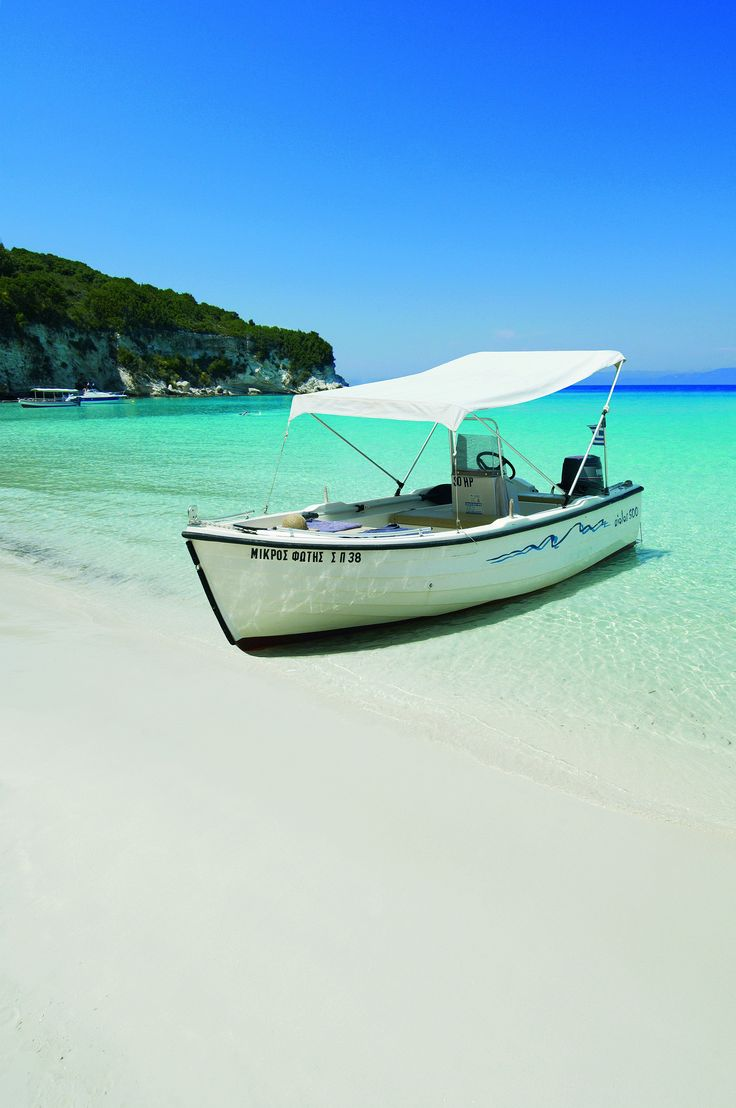 GREECE CHANNEL | #Voutoumi #beach, #Antipaxos  http://www.greece-channel.com/