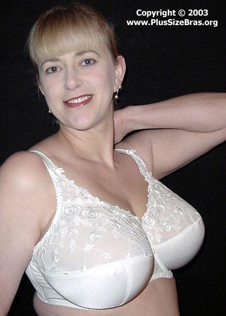 Plus size lingerie models