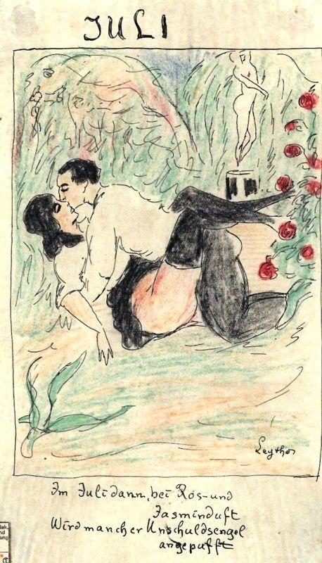 Puis en Juillet, dans le parfum des roses et du jasmin, bien des anges innocents se font déniaiser.