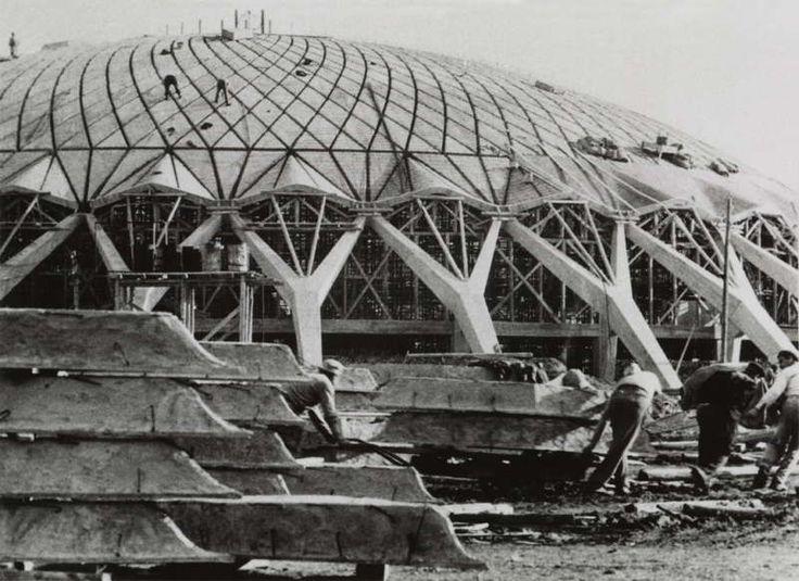 Pier Luigi Nervi Architecture for Sports exhibition