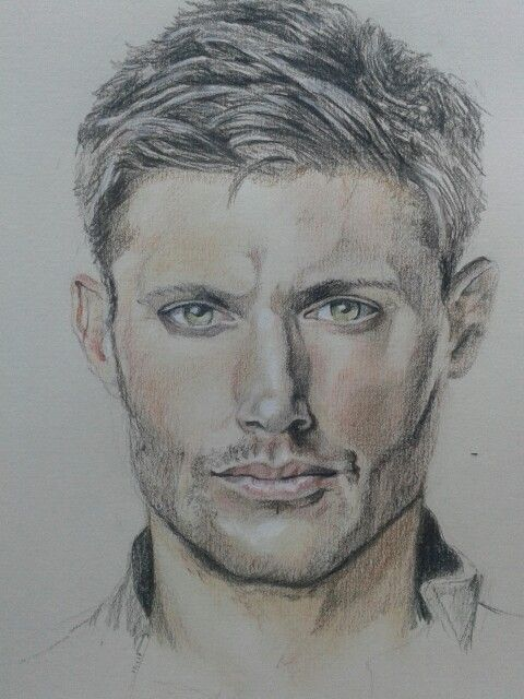 Drawing of Dean Winchester