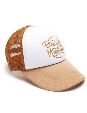 DEUS Trucker pet Throttle Top - brown