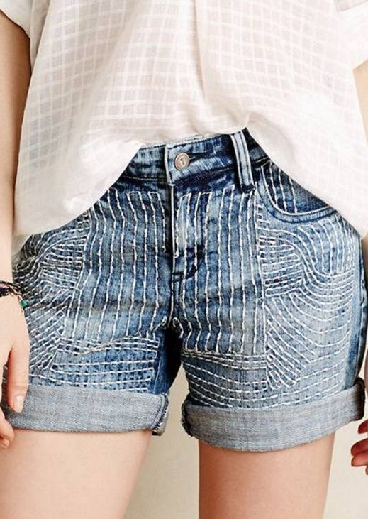 Best 25  Jeans to shorts ideas on Pinterest | Diy jeans, Diy ...