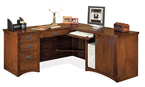 Kathy Ireland Home By Martin Mission Pasadena Right L Shaped Desk