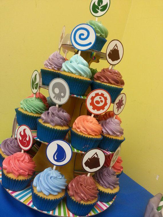 Skylanders Elements Printable Cupcake Toppers by ...