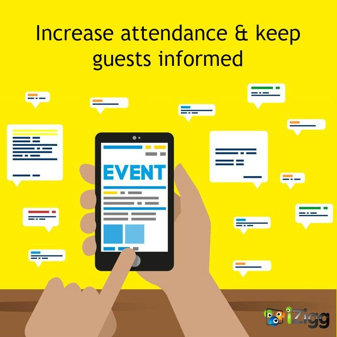 Encourage your audience to get involved in your event by using iZigg SMS Marketing Services.  #Events #Audience #Sales #Audience #Mobile   #Marketing #SMS #Engagement #Inbox#iZiggMobile
