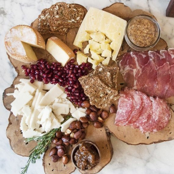 How to build a meat and cheese tray for any size of party. Martha stewart.com