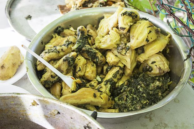 Oil Down :  comfort food at its Caribbean best