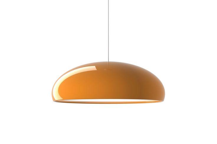 Lampa MUNDIM Pomarańczowa do kuchni