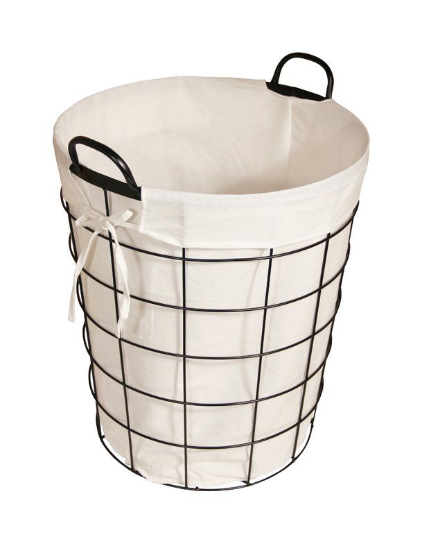 Cute Laundry Basket Metal Laundry Basket Wire Laundry Basket