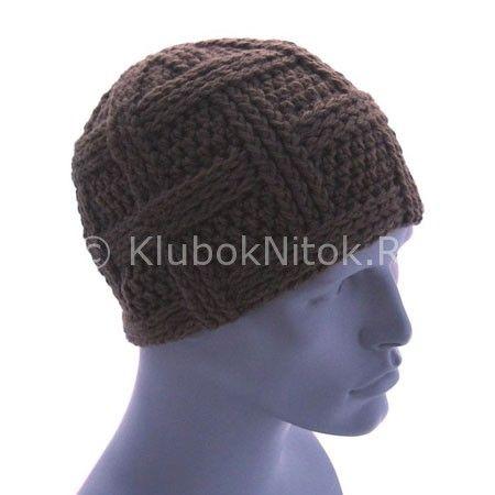Pánské pokrývky hlavy | háčkování | Plést a háčkování. pletení schéma.