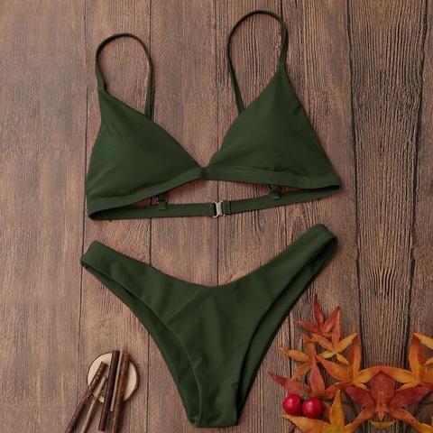 Hot Sale Bikini Women Push-Up Padded Bra Swimwear