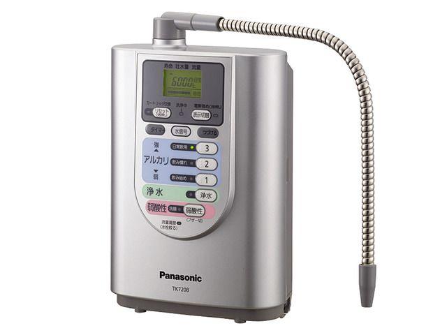 アルカリイオン整水器 TK7208P 商品概要 | アルカリイオン整水器 | Panasonic 30348円