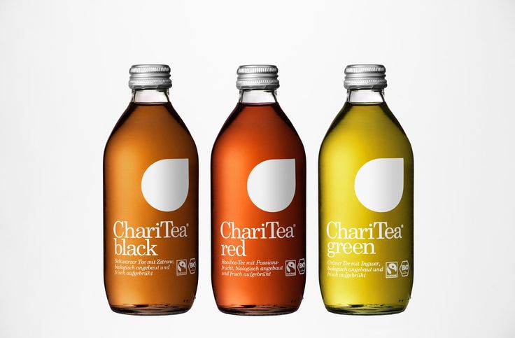 Charitea packaging designed by BVD.