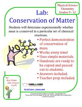 Chemistry Lab: Conservation Of Mass: Conservation Of Mass, Chem 101, Chemical Change, Change Reaction, Chemistry Labs, Conservative, Chemical Reactions Lab, Elementary Chem, Chemistry Fun