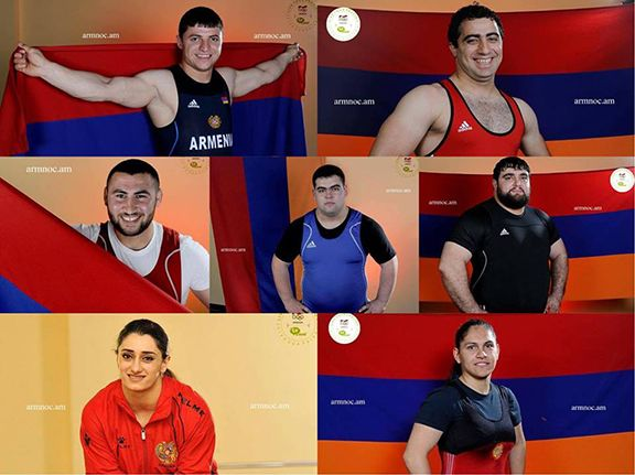 The line-up of the Armenian Rio 2016 Olympic team has been released.