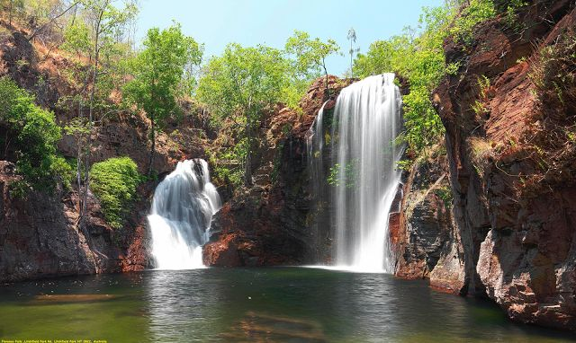 Awesome Videoshp: Florence Falls ,Litchfield Park Rd, Litchfield Par...