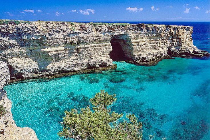 Viaggio in Puglia: spiagge del salento. Baia dei Turchi